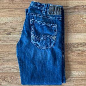 Men's Silver Jeans Co Zac size 34 x 32